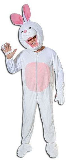 Rabbit Big Head Fancy Dress Costume