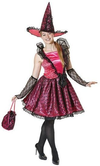 Story Book Fairy Tale Witch Dress Up Set.