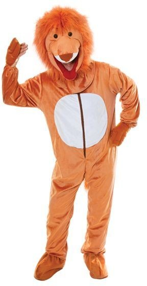 Lion. Big Head Fancy Dress Costume
