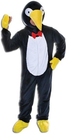 Penguin. Big Head Fancy Dress Costume
