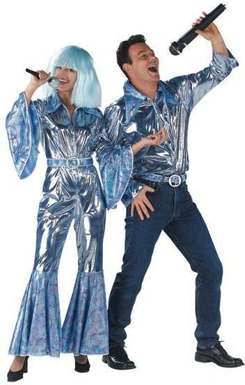 Disco Shirt Mens (1970S Fancy Dress)
