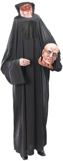 Headless Talking Man Fancy Dress Costume