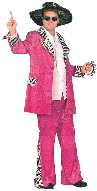 Disco Daddy Fuchsia Fancy Dress Costume
