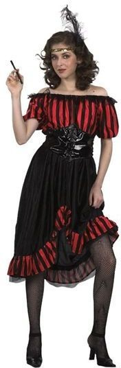 Saloon Girl Fancy Dress Costume