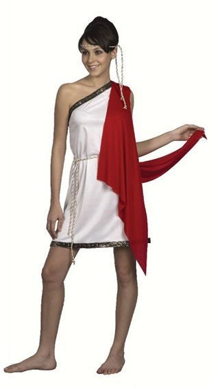 Toga. Ladies Fancy Dress Costume