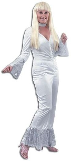 Abba Female Fancy Dress Costume