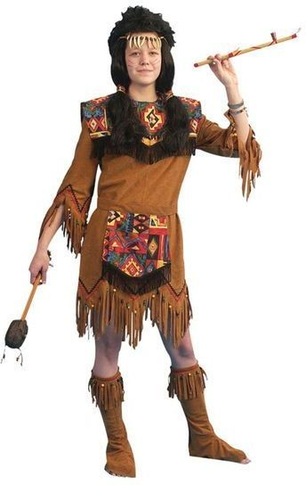 Native American Lady Fancy Dress Costume