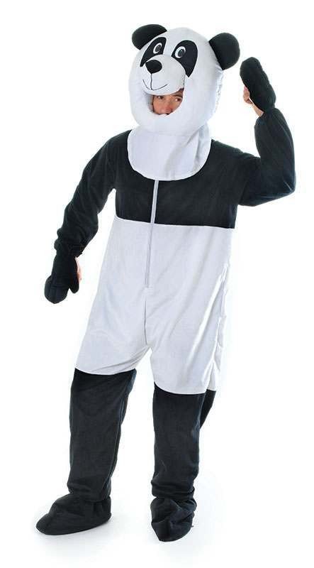 Panda Big Head Fancy Dress Costume