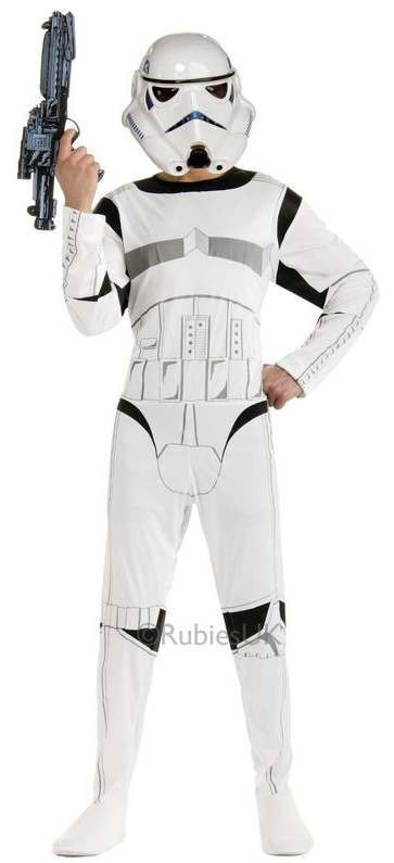 Adults Star Wars Classic Storm Trooper Fancy Dress Costume