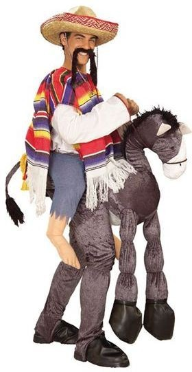 Hey Amigo/Mexican On Horseback Fancy Dress Costume