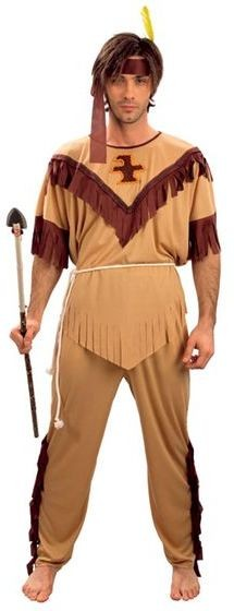 Indian Man Budget Fancy Dress Costume