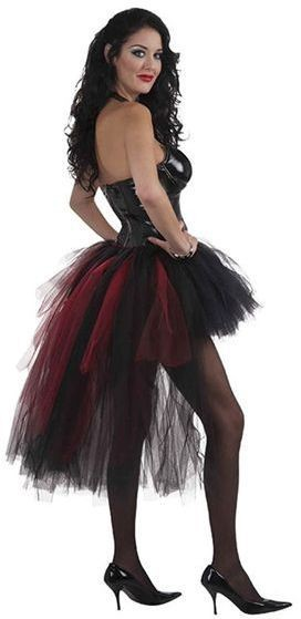 Vampiress Burlesque Tutu (Burlesque , Sexy Fancy Dress)