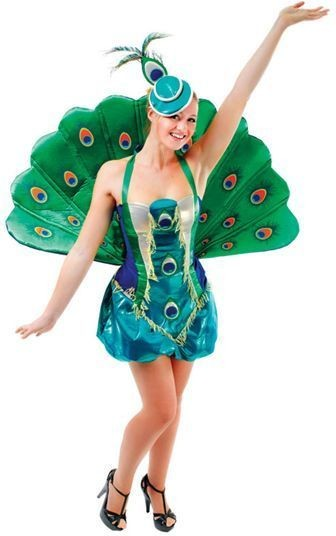 Peacock Fancy Dress Costume