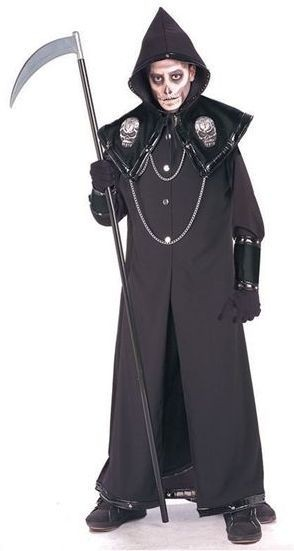 Death Reaper Fancy Dress Costume