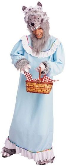 Granny Wolf Fancy Dress Costume