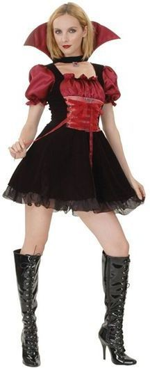 Vampire Mistress Fancy Dress Costume