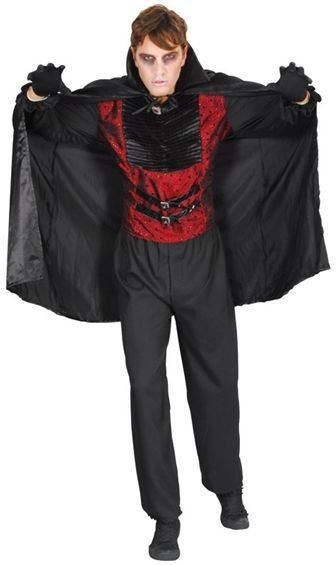 Vampire Adult Fancy Dress Costume