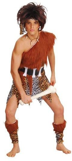 Caveman + Wig Fancy Dress Costume