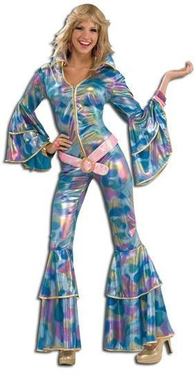 Disco Mama Fancy Dress Costume