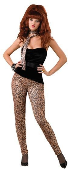 Leopard Trousers. Female (1980S , Animals Fancy Dress)