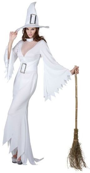 White Witch Fancy Dress Costume
