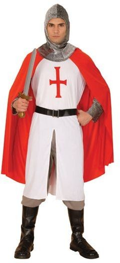 Knight Crusader Fancy Dress Costume