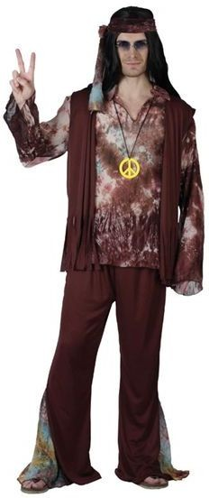 Hippy . Tye Dye Fancy Dress Costume