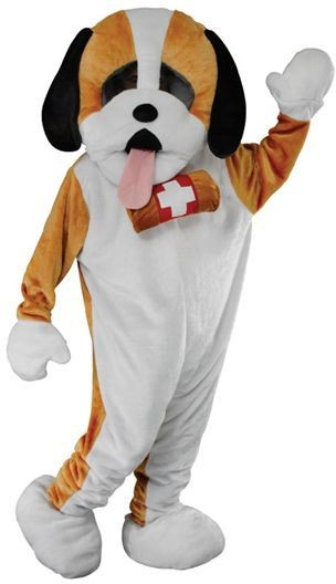 Puppy Mascot Fancy Dress Costume