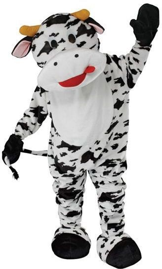 Cow Mascot Fancy Dress Costume