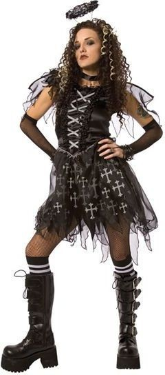 Dark Angel Fancy Dress Costume