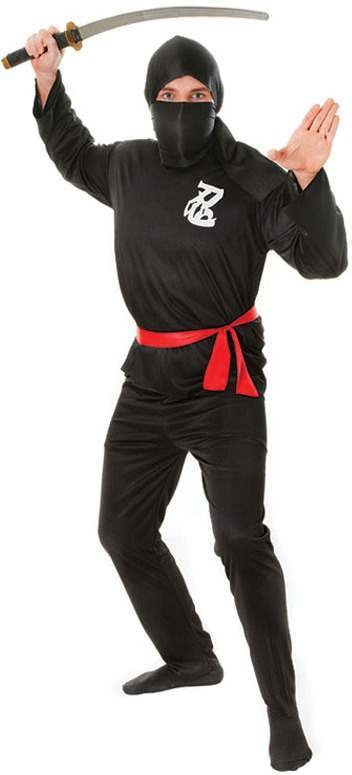 Ninja Fancy Dress Costume