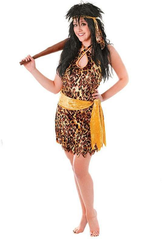 Cave Beauty Fancy Dress Costume