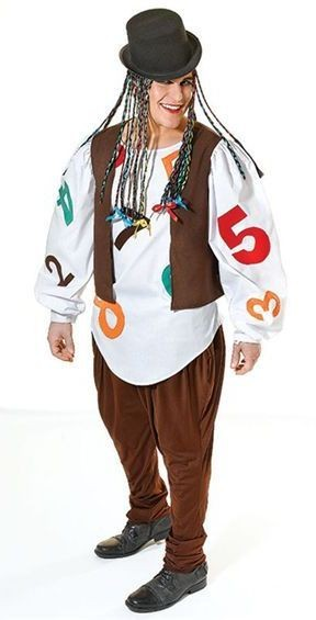 Boy George Fancy Dress Costume