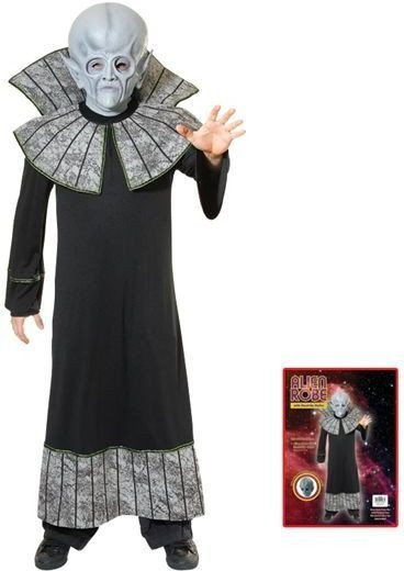 Alien Robe / Stand Up Collar Fancy Dress Costume