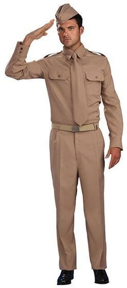 Ww2 Private Soldier Fancy Dress Costume
