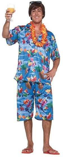 Hawaiian Suit. Male Fancy Dress Costume