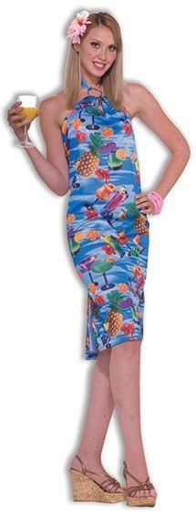 Hawaiian Suit. Female Fancy Dress Costume