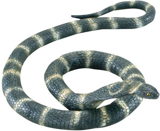 Cobra Snake. Rubber Bendable (Animals Fancy Dress Decorations)