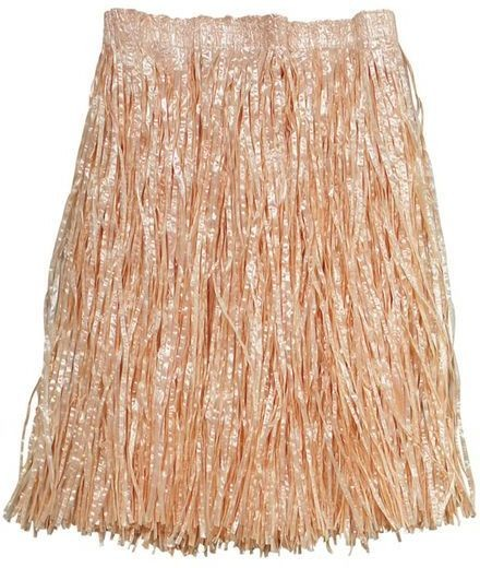 Grass Skirt. Plain Adult Budget (Hawaiian Fancy Dress)