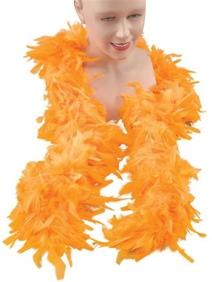 Feather Boa. Yellow (1920S , Burlesque Fancy Dress Feather Boas)