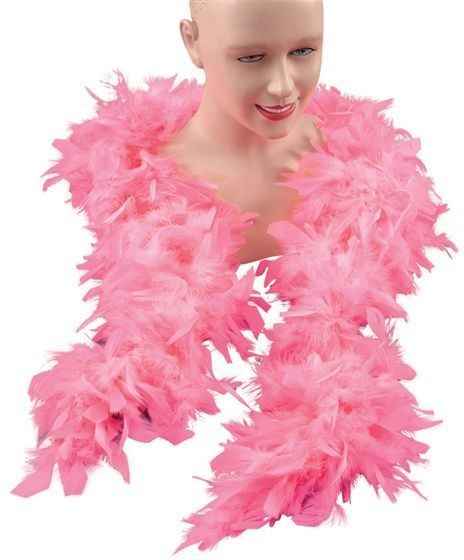 Feather Boa. Pink (1920S , Burlesque Fancy Dress Feather Boas)
