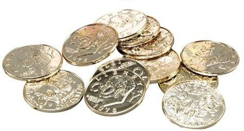 Pirate Gold Coins (Pirates Fancy Dress)