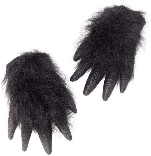 Gorilla Hands (Animals Fancy Dress Gloves)
