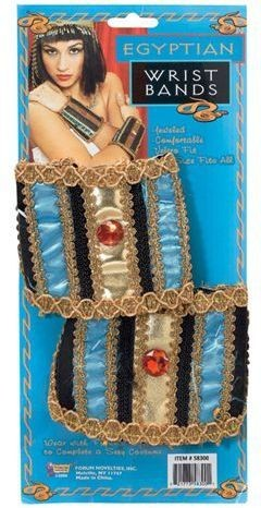 Egyptian Wristbands (Egyptian Fancy Dress Disguises)