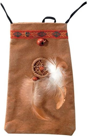 Native American Pouch (Cowboys/Native Americans Fancy Dress)