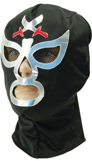 Macho Wrestler Mask (Sport Fancy Dress Masks)