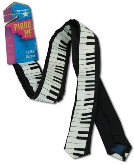Piano Tie (1980S , Music Fancy Dress)