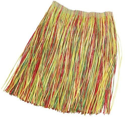 Grass Skirt. Adult Multi Best (Hawaiian Fancy Dress)