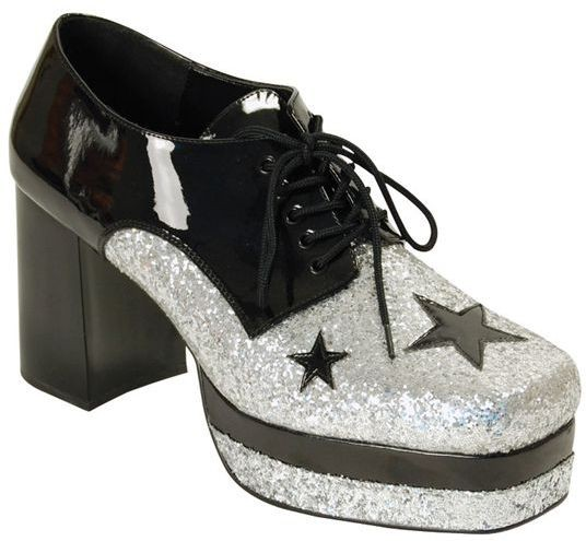 Glam Rock Platform Shoes. Male (Fancy Dress Shoes)