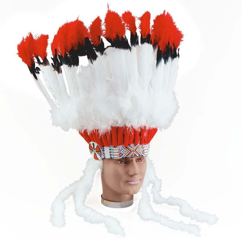 Indian Headress. Superior (Cowboys/Indians Fancy Dress)